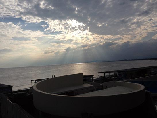 新江ノ島水族館からの景色
