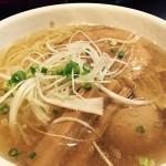 麺家しんの塩ラーメン&辛味噌ラーメン / 群馬県前橋市天川大島町