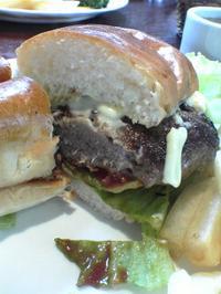 Dプレートランチ ハンバーガー