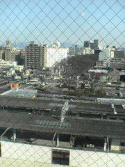東横インからみる前橋駅