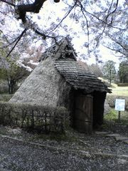佐久発電所付近竪穴式住居