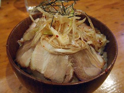 九州麺酒房 響(ひびき) ねぎネギ豚めし