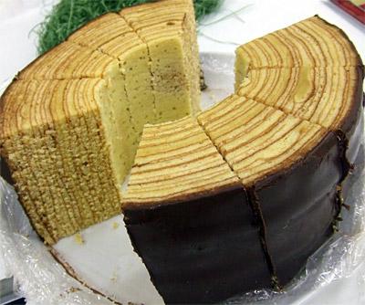 樫の木バームクーヘン