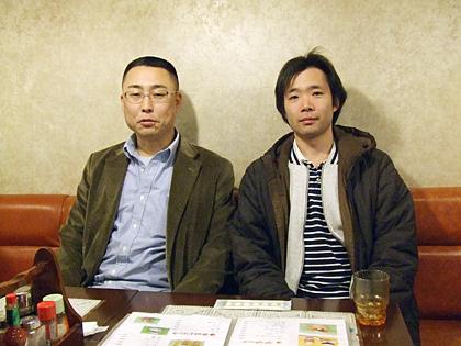 のぶ山さんと松井店長