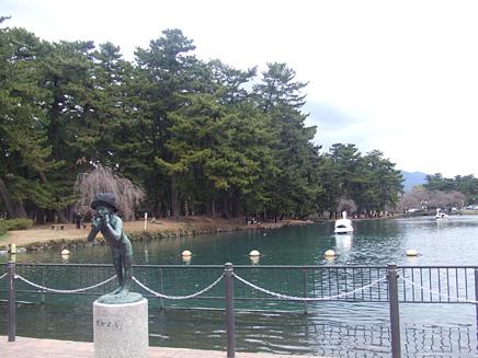 桜開花情報 前橋敷島公園 2007