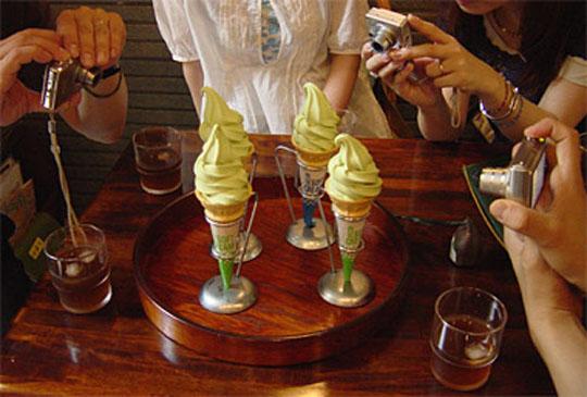 お茶の大七ソフトクリーム