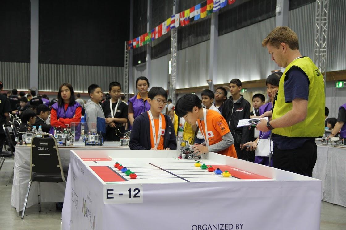 WRO2018世界大会(タイ)